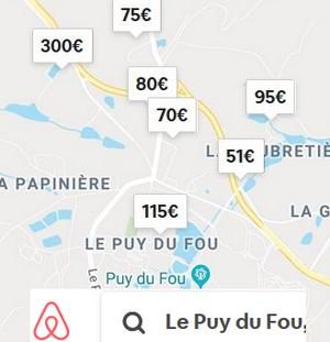 AIRBNB-Puy-du-fou