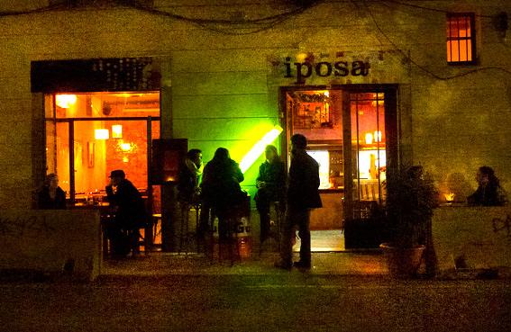 bar du film l'auberge espagnol - weekend barcelone