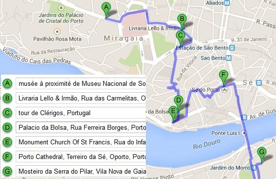 plan-googlemap-de-visite-porto