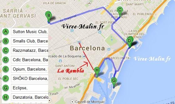 Carte Barcelone Place Despagne.Comment Visiter Barcelone En 3 Ou 4 Jours