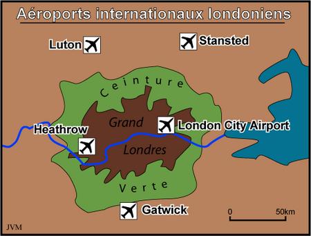 Navette Aéroports Londres