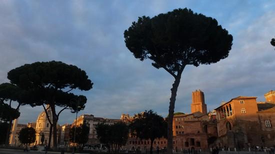 Rome via dei fori imperiali
