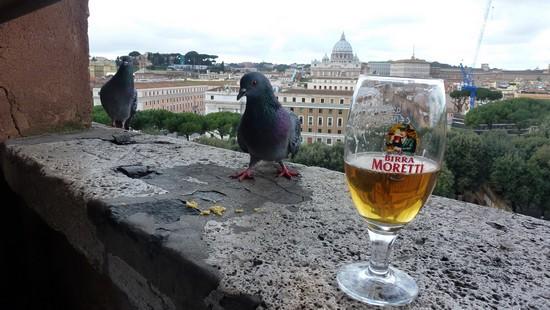 plan de Rome - castle sant'angelo