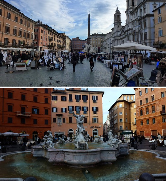 se loger près de la Piazza Navona
