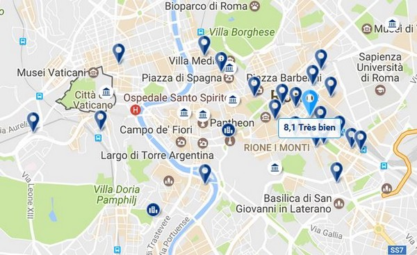 Ou Dormir A Rome Dans Quel Quartier Se Loger