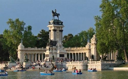 Parc-retiro-Madrid