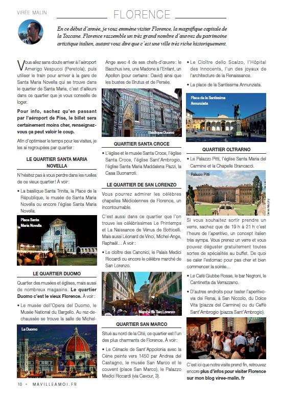 article-de-presse-viree-malin-visiter-florence-mavilleamoi