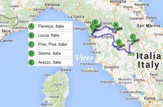Firenze Italie Carte.Visiter Florence En 3 Jours