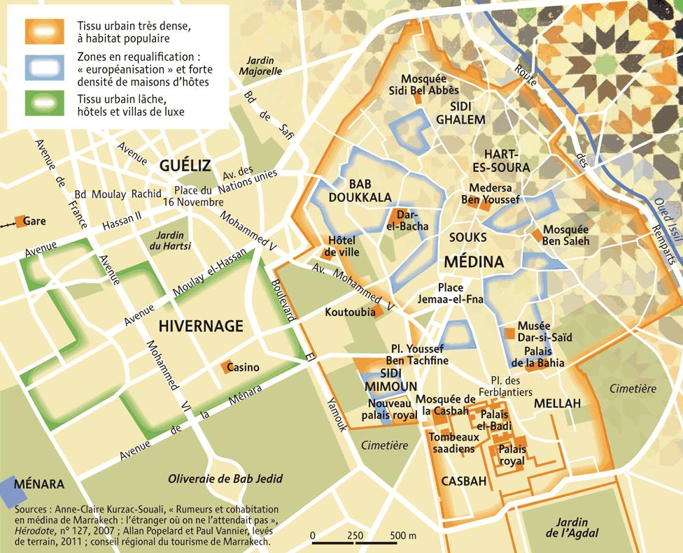 Plan Marrakech Visite Le Quartier De Guliz
