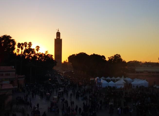 que-voir-marrakech-koutoubia-soir