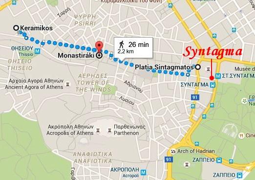 ou-dormir-athenes-proche-station-metro