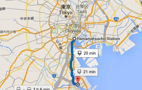 rejoindre-tokyo-depuis-haneda