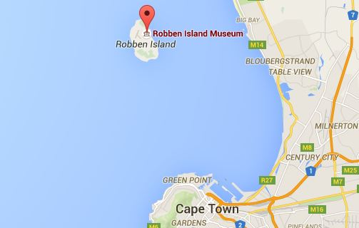 googlemap-robben-island