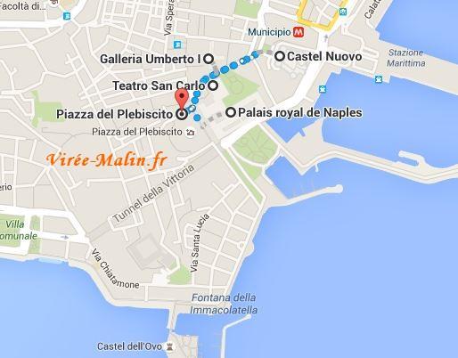 Goolgemap Visite Naples 3 Jours
