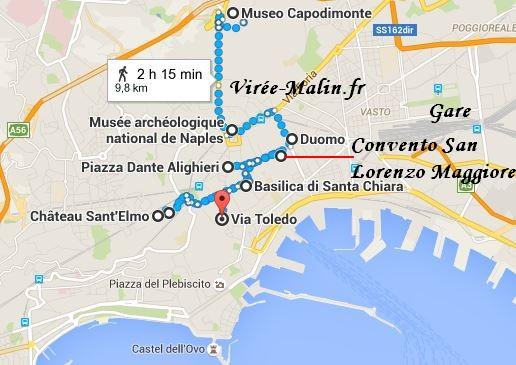 Visiter Naples Plan Googlemap