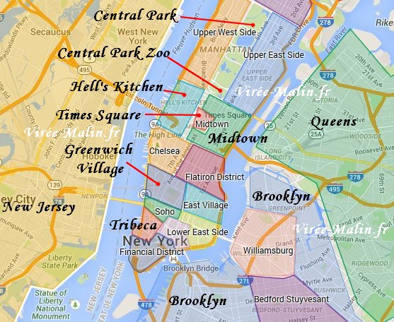 Dans Quel Quartier Dormir New York