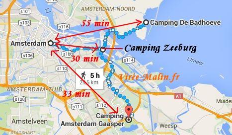quel camping choisir amsterdam