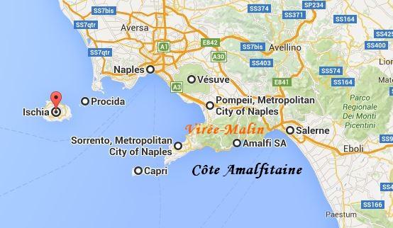 GoogleMap Visite Alentours Naples