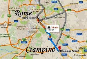 transfert-rome-aeroport-ciampono