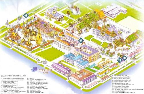Plan-Grand-Palais-bangkok-visite