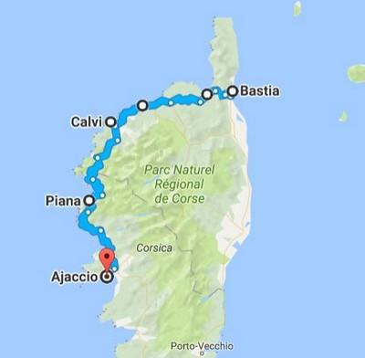 Carte Corse Fond Blanc.Que Visiter En Corse L Ile De Beaute