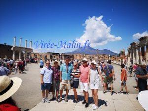 Visiter Pompéi - Billet coupe file de Pompéi et visite guidée en Français