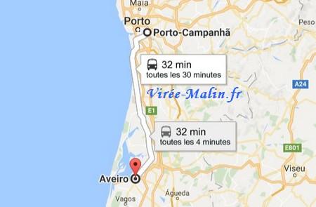 rejoindre-aveiro-depuis-porto-train