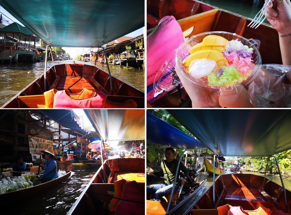 visiter-marche-flottant-Damnoen-Saduak-bangkok