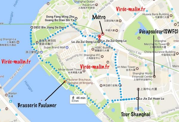 Visite Quartier Pudong Activites Shanghai Bund
