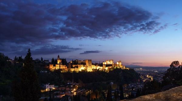alhambra-soir