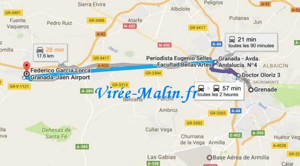 rejoindre-grenade-depuis-aeroport-Grenade-Federico