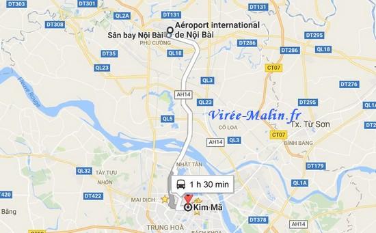 rejoindre-hanoi-depuis-aeroport-en-bus
