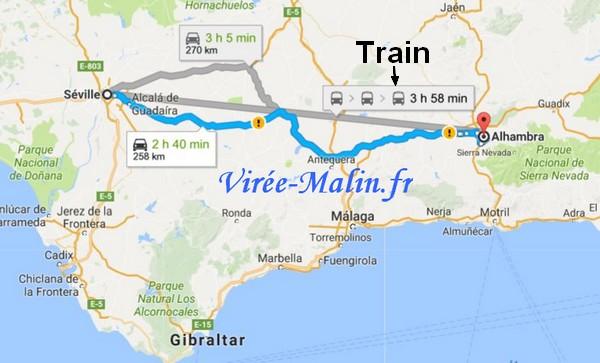 rejoindre-alhambra-depuis-seville-train-ou-voiture