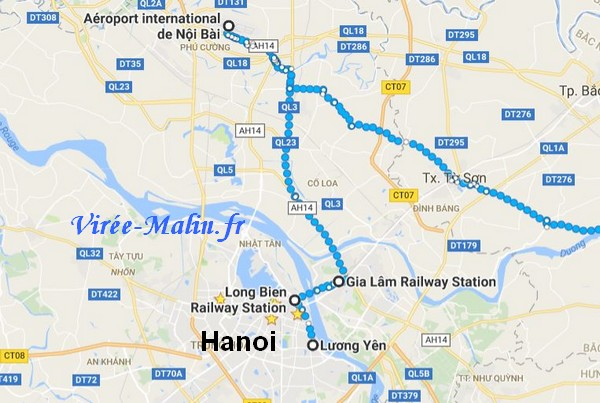 rejoindre-hai-phong-depuis-hanoi-aeroport