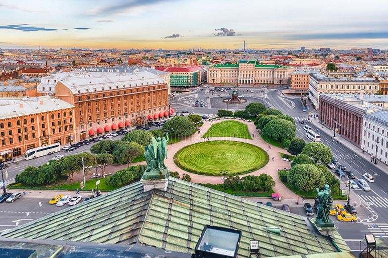 visiter-cathedrale-saint-isaac-vue-dome-saint-petersbourg