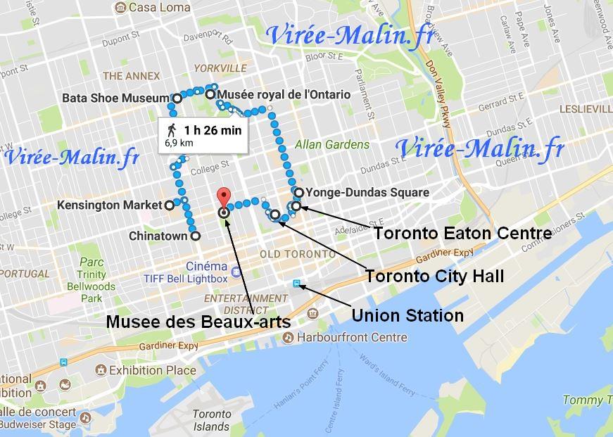 que-voir-toronto-googlemap
