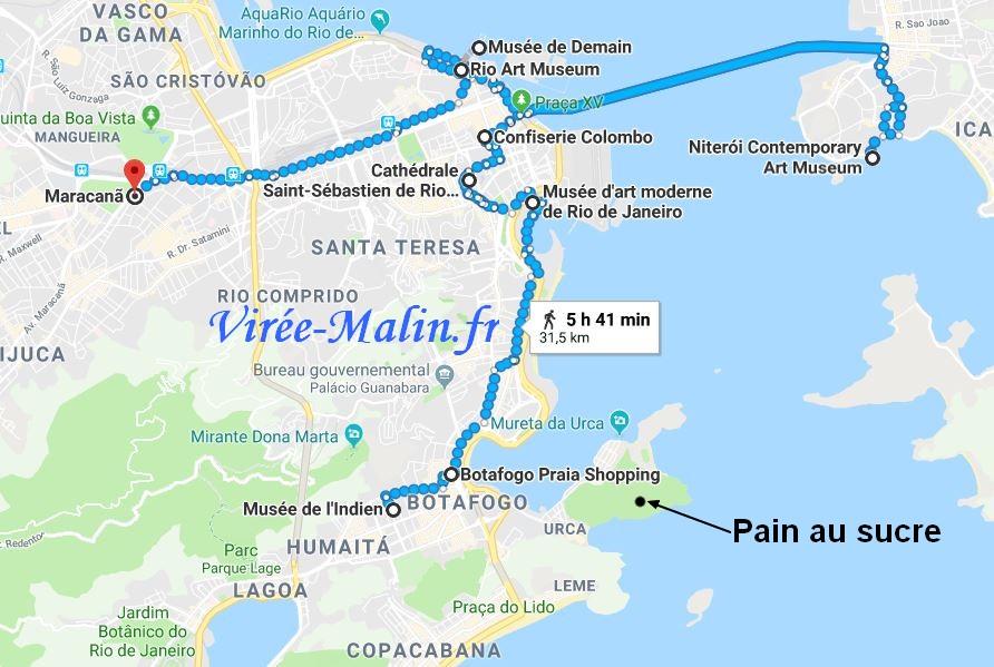 que-voir-rio-janeiro-carte-googlemap