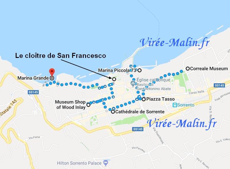 visiter-sorrente-googlemap