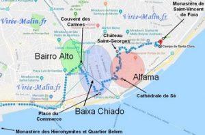 Où dormir à Lisbonne - Bairro Alto, Baixa Chiado ou Alfama ?