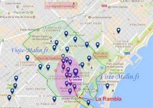 Où dormir à Barcelone, quel quartier loger à Barcelone ?