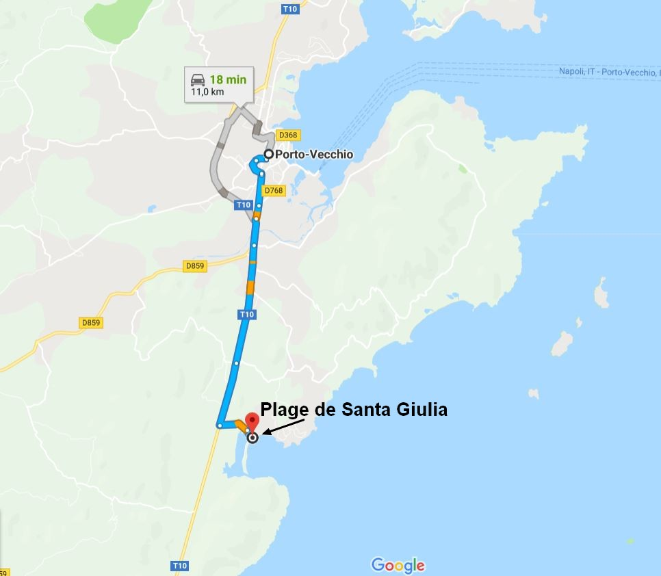 rejoindre-plage-santa-giulia-porto-vecchio-corse