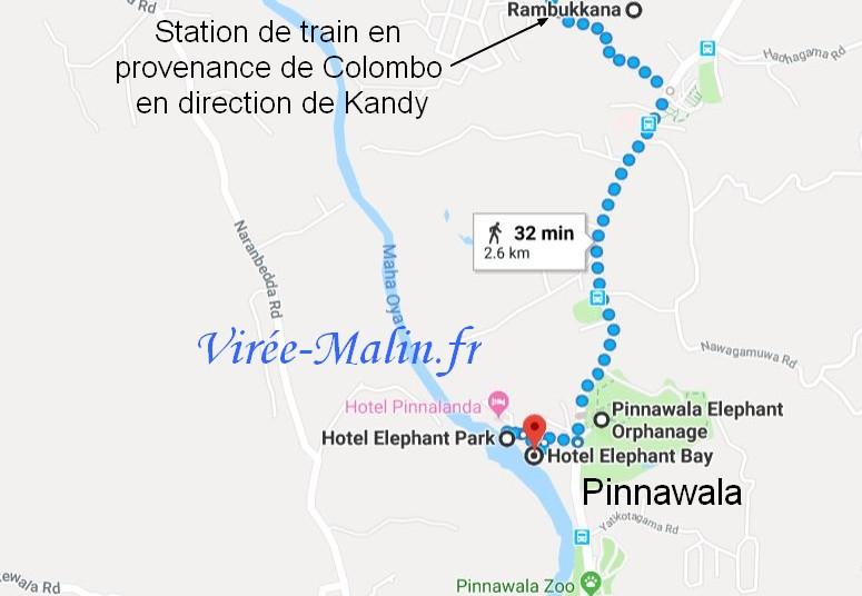 rejoindre-pinnawala-depuis-colombo-et-rambukkana