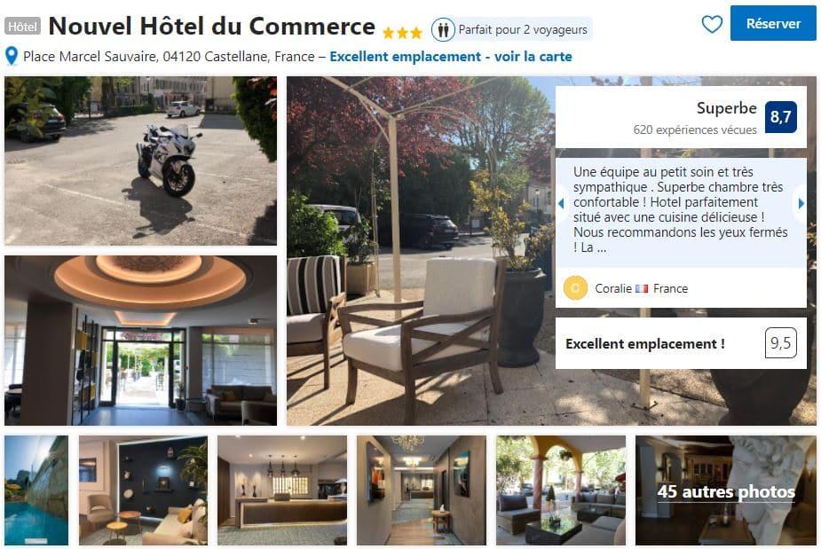 hotel-avec-piscine-castellane-proche-zone-rafting-canyoning-gorges-du-verdon