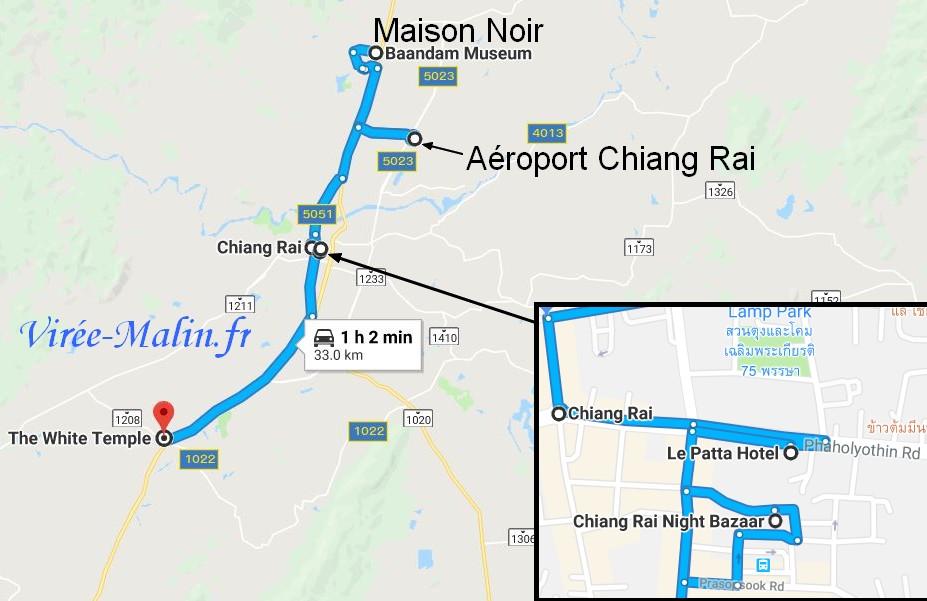 que-voir-chiang-rai-googlemap