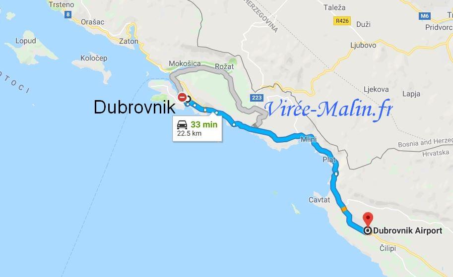 rejoindre-dubrovnik-depuis-aeroport