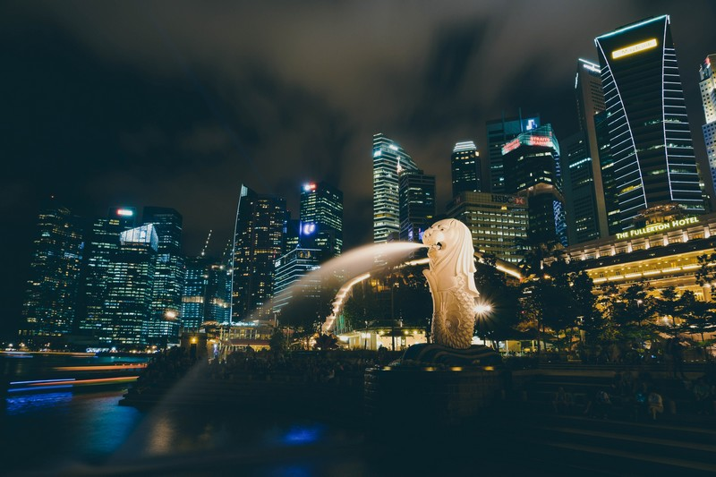 singapour-Merlion