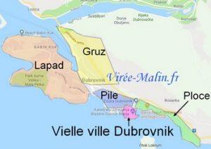 Où dormir à Dubrovnik ? Dans quel quartier loger à Dubrovnik ?