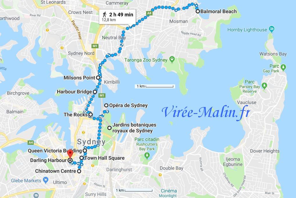 que-visiter-sydney-googlemap