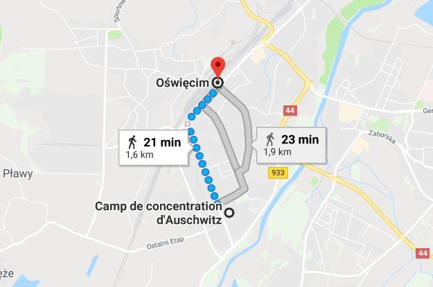 rejoindre-camp-Auschwitz-depuis-gare-Oswiecim-ou-cracovie