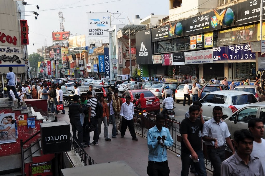 Lieux de rencontre dans la ville de Bangalore